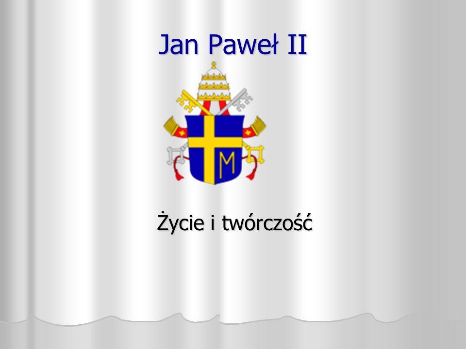 Jan Paweł II (łac.Joannes Paulus PP. II) właściwie Karol Józef Wojtyła.