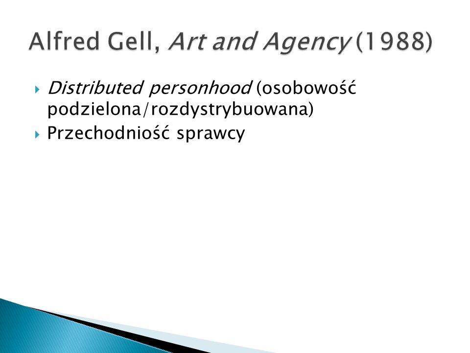 Distributed personhood (osobowość podzielona/rozdystrybuowana) Przechodniość sprawcy