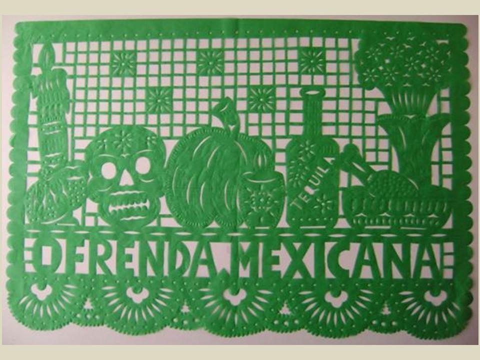 Papel picado to meksykańskie wycinanki ludowe, mające swoje korzenie w starożytnej kulturze Azteków. Obecnie wycinane są najczęściej z bibułki, a dokł