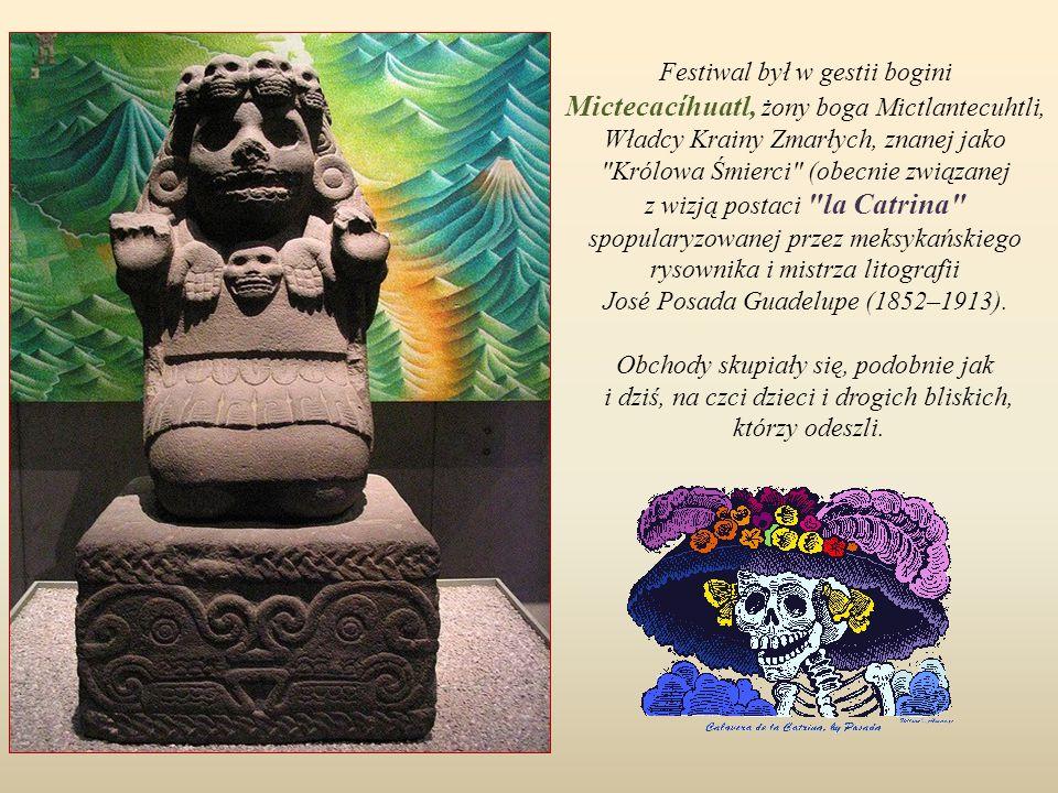 Początki Dnia Zmarłych w Meksyku wywodzą się z tradycji ludów Ameryki Centralnej, takich jak Aztekowie, Majowie, Taraskowie (Purépecha), Nahua i Toton