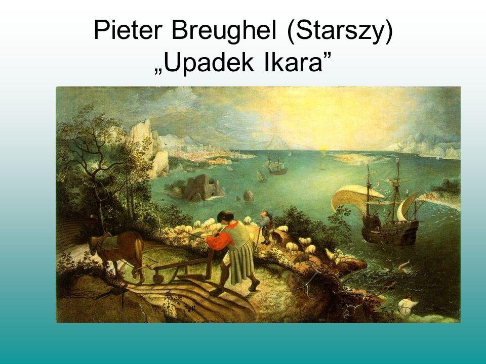 Pieter Breughel (Starszy) Upadek Ikara