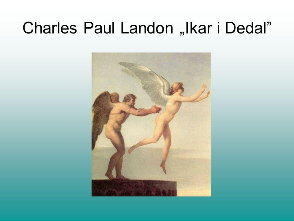 Charles Paul Landon Ikar i Dedal