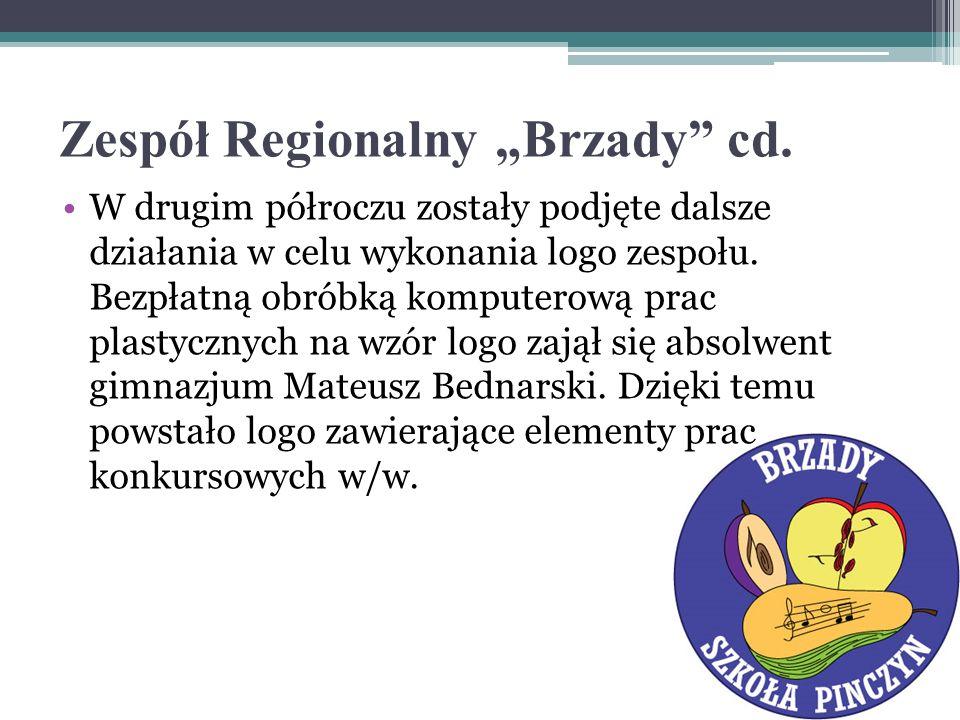 Zespół Regionalny Brzady cd.