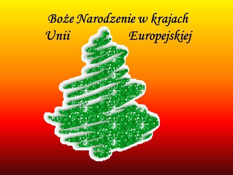 Holandia W Holandii nie ma postu, wieczerzy wigilijnej, ani prezentów pod choinką.