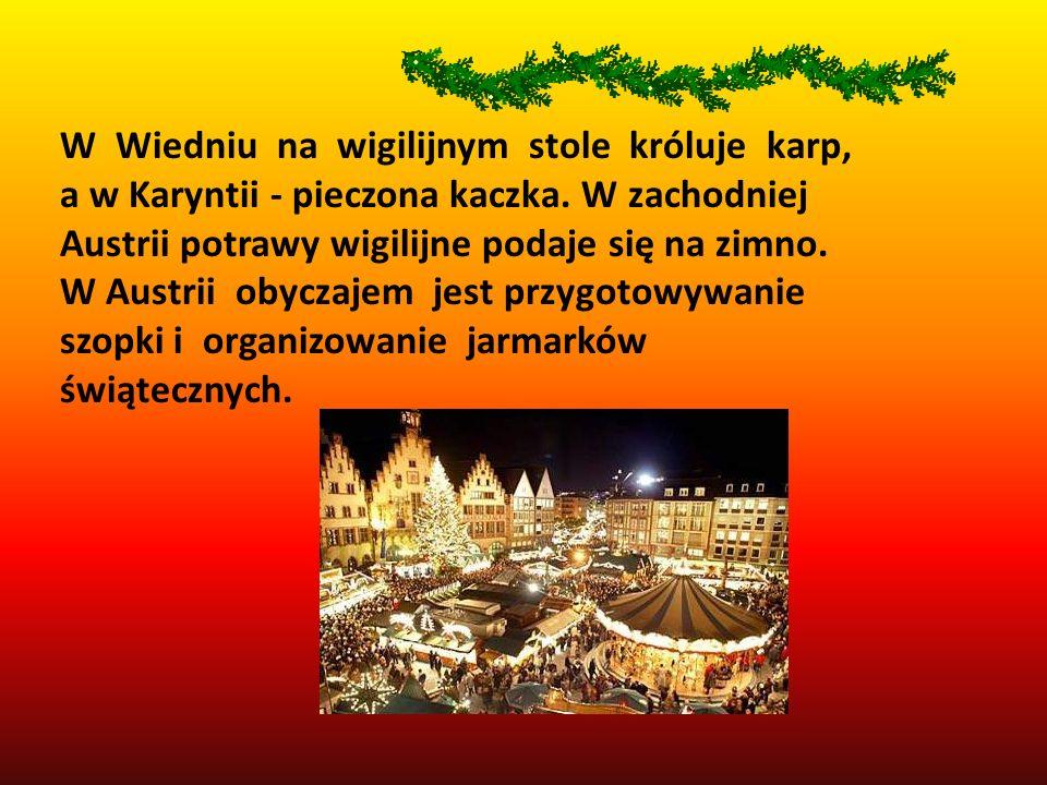 Francja.Świąteczną atmosferę wyczuwa się na kilka tygodni przed Bożym Narodzeniem.
