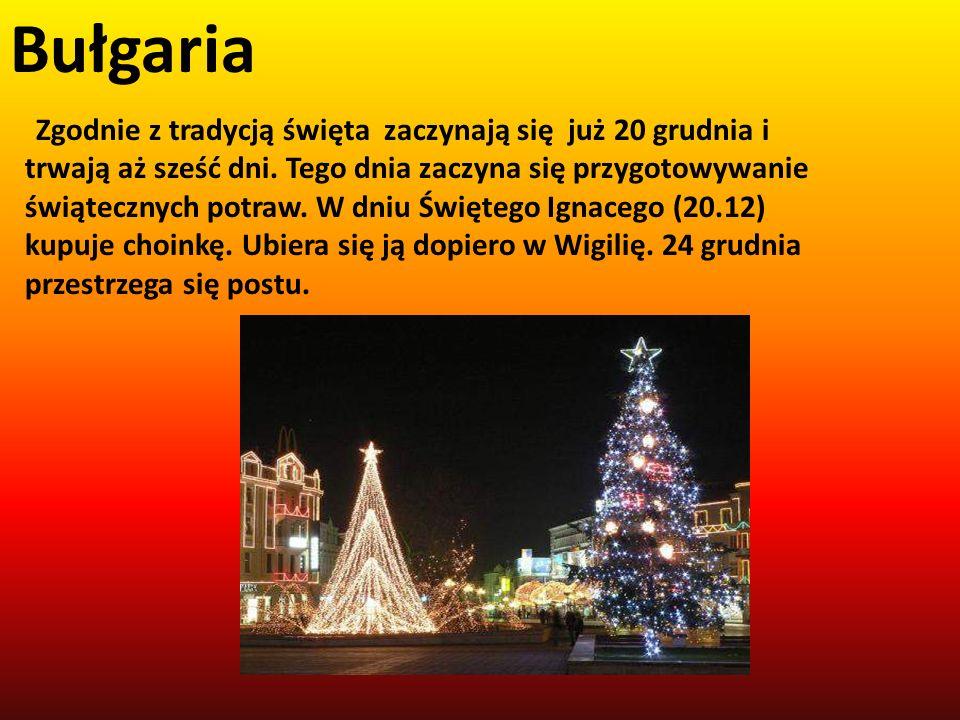 Zgodnie z tradycją święta zaczynają się już 20 grudnia i trwają aż sześć dni. Tego dnia zaczyna się przygotowywanie świątecznych potraw. W dniu Święte