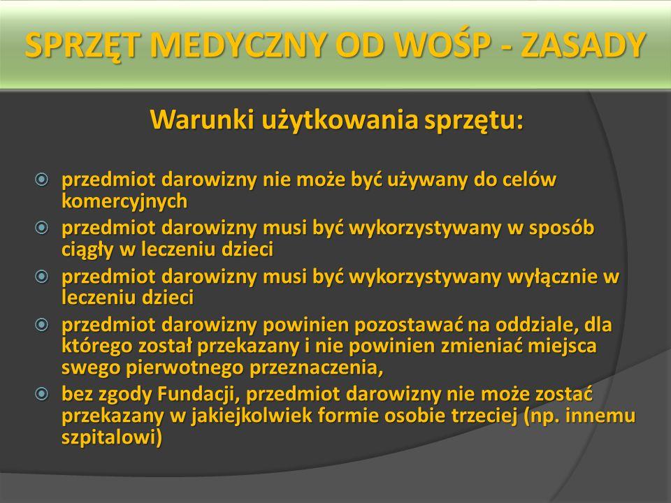 Programy medyczne WOŚP