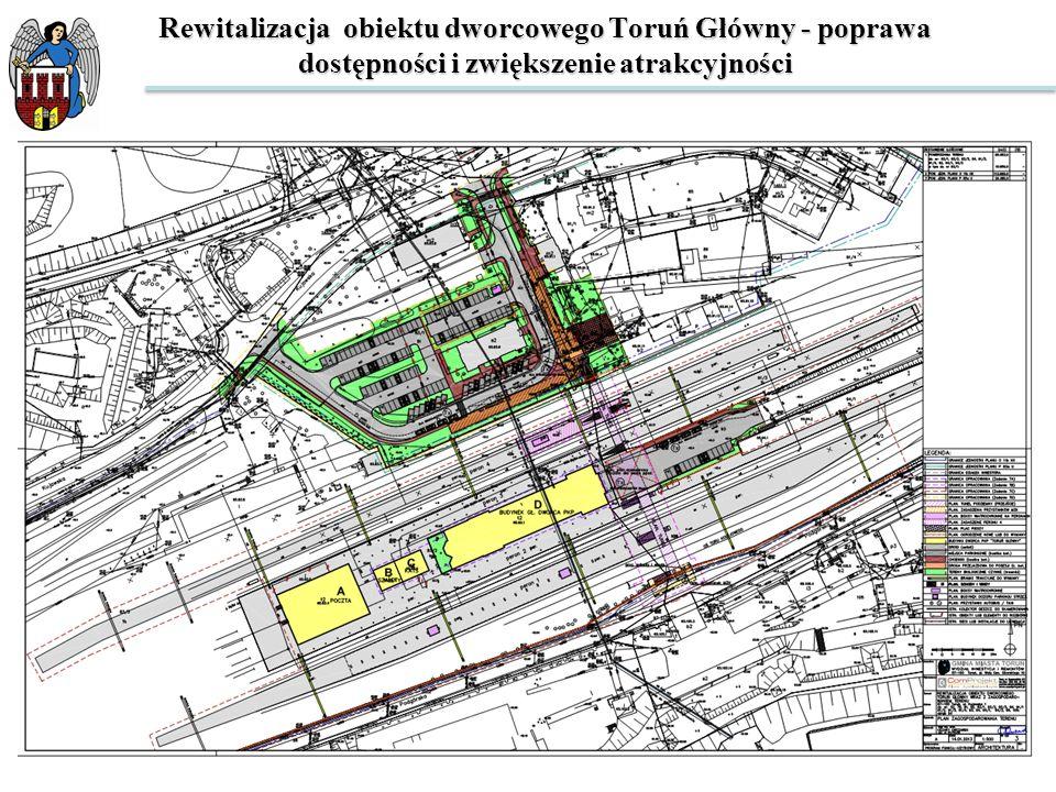 Rewitalizacja obiektu dworcowego Toruń Główny - poprawa dostępności i zwiększenie atrakcyjności BUDYNEK A.