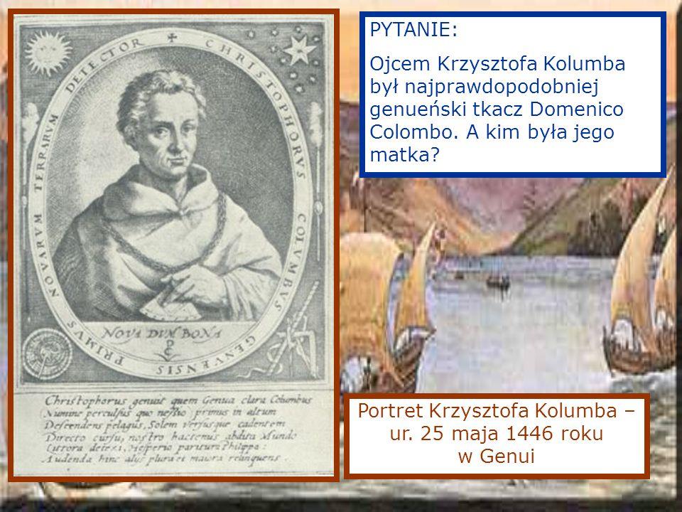 Portret Krzysztofa Kolumba – ur.
