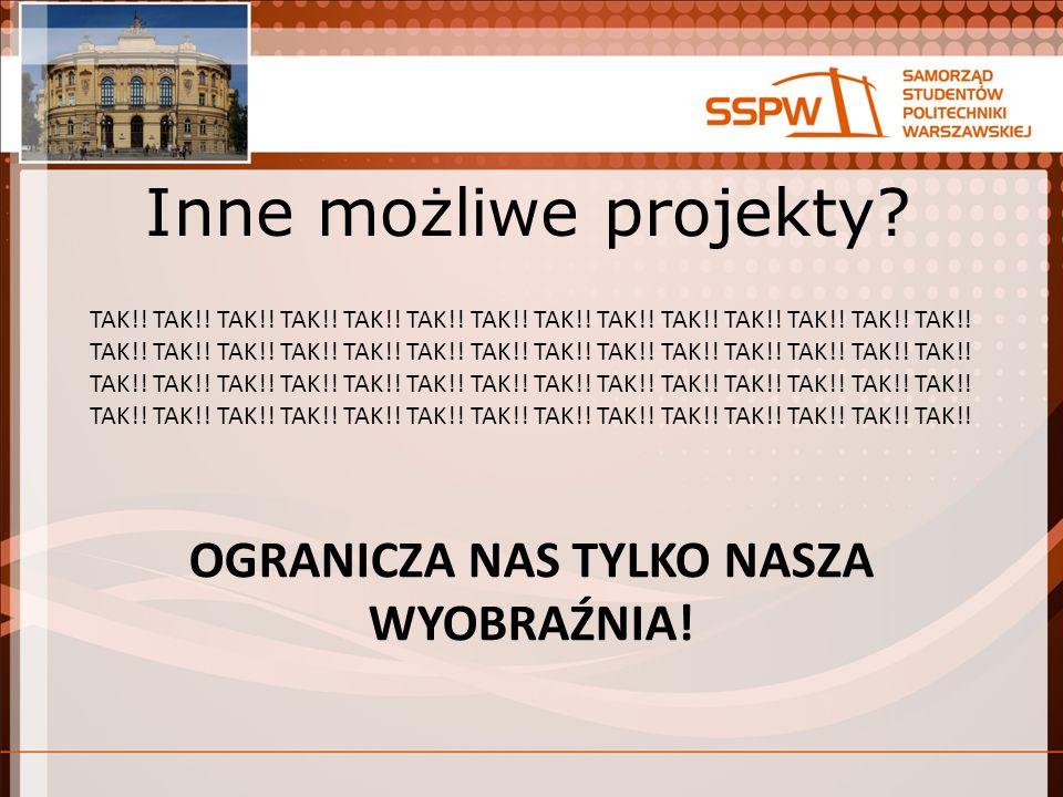 Inne możliwe projekty. TAK!. TAK!. TAK!. TAK!.