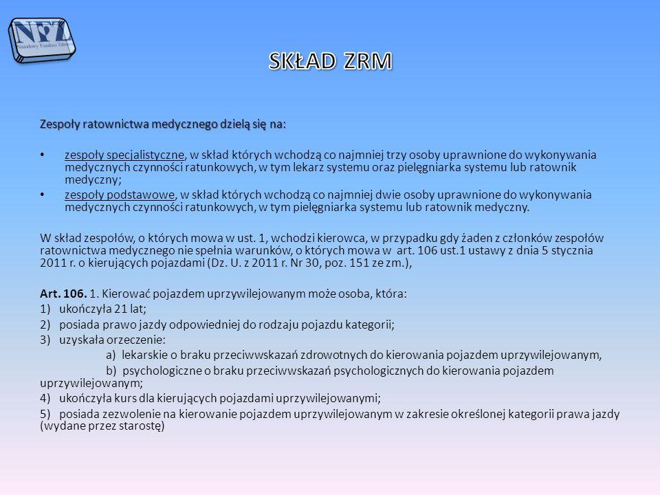 Wymogi w zakresie kwalifikacji personelu Określone są w : 1.Art.