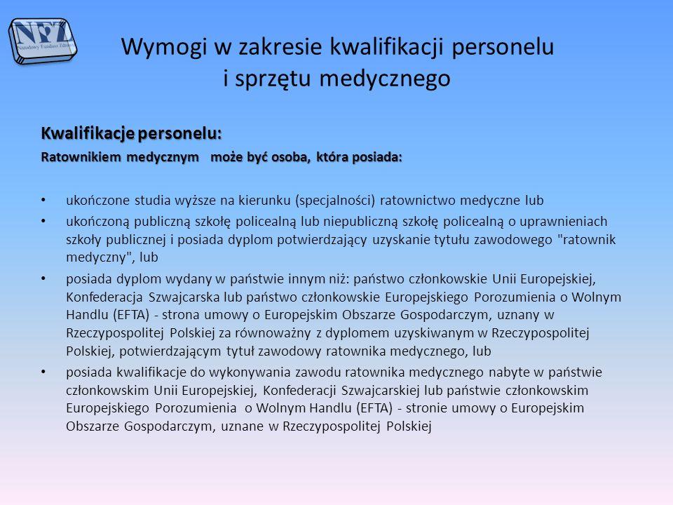 Wymagane dokumenty wynikające z Zarządzenia nr 57/2013/DSOZ Prezesa NFZ z dnia 02.10.2013 r.