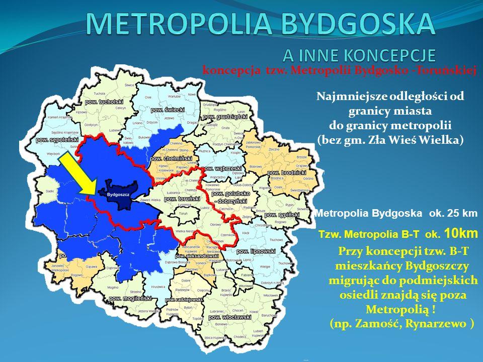 Metropolia Bydgoska 768.662 mieszkańców Metropolia Bydgoska nie dzieli a łączy, gwarantuje sprawiedliwy podział środków i dynamiczny rozwój całego regionu