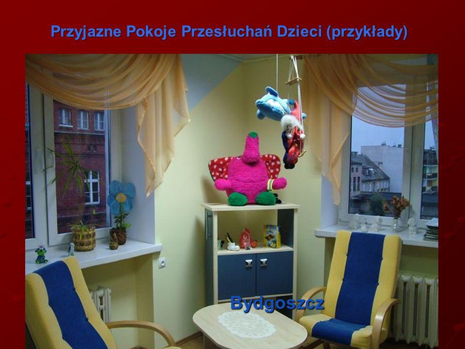 Bydgoszcz Przyjazne Pokoje Przesłuchań Dzieci (przykłady) Przyjazne Pokoje Przesłuchań Dzieci (przykłady)