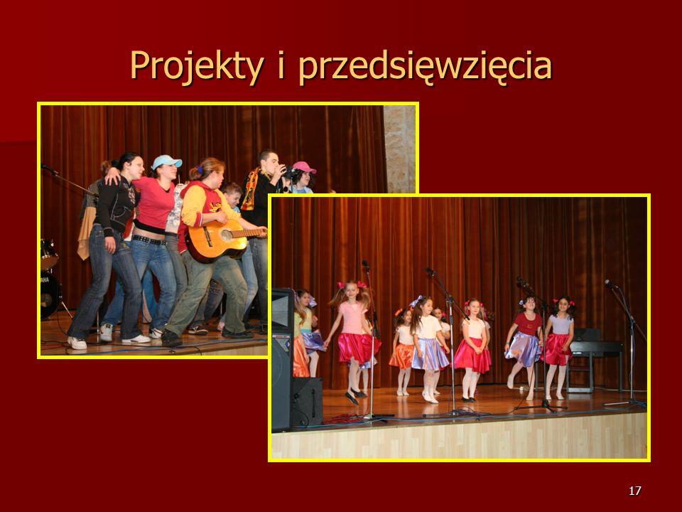 16 Projekty i przedsięwzięcia Konkurs dla uczniów i nauczycieli języka niemieckiego szkół podstawowych, gimnazjalnych i ponadmimnazjalnych Miasta Lubl
