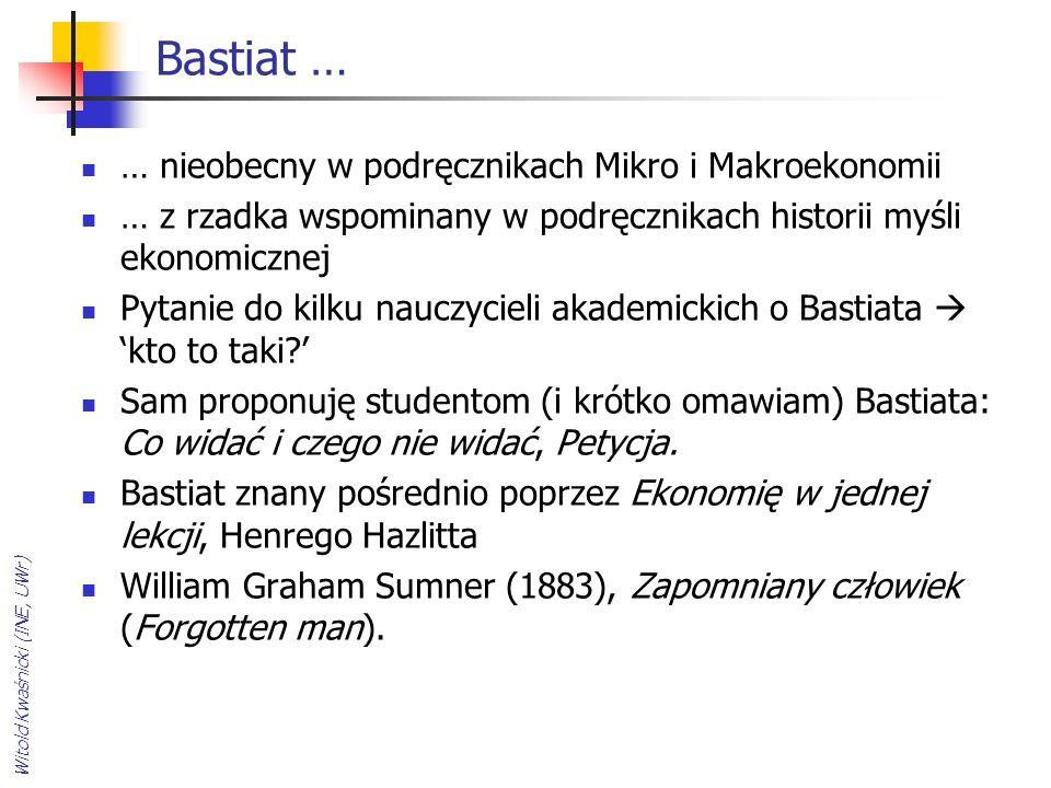 Wacław Stankiewicz, Historia myśli ekonomicznej (PWE, 2000 s.