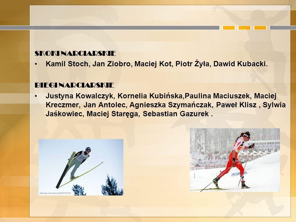 5. Polska Kadra na Igrzyskach Olimpijskich w Sochi BIATHLON Rafał Lepel, Krystyna Pałka, Monika Hojnisz, Weronika Nowakowska-Ziemniak, Paulina Bobak,