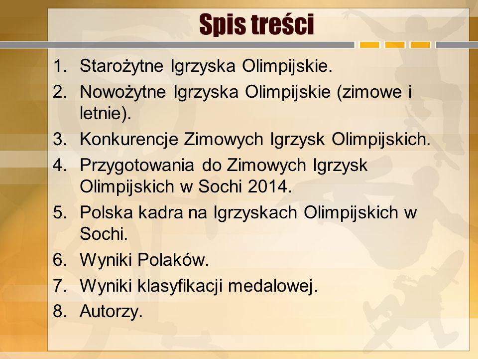 Zimowe igrzyska olimpijskie – międzynarodowe zawody sportowe organizowane co 4 lata przez Międzynarodowy Komitet Olimpijski.