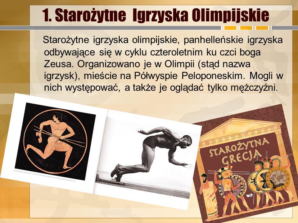 Źródła 1.http://pl.wikipedia.org/wiki/Staro%C5%BCytne_igrzyska_olimpijskie http://www.google.pl/search?tbm=isch&hl=pl&gbv=2&oq=staro%C5%BCytne++igrzyska+olimpi jskie&gs_l=img.12..0l5j0i24l5.1515.4681.0.6250.12.12.0.0.0.0.160.1274.4j8.12.0....0...1ac.1.34.img..9.3.389.Hv8a0NVT_QU&q=staro%C5%BCytne%20igrzyska%20olimpijskiehttp://pl.wikipedia.org/wiki/Staro%C5%BCytne_igrzyska_olimpijskie http://www.google.pl/search?tbm=isch&hl=pl&gbv=2&oq=staro%C5%BCytne++igrzyska+olimpi jskie&gs_l=img.12..0l5j0i24l5.1515.4681.0.6250.12.12.0.0.0.0.160.1274.4j8.12.0....0...1ac.1.34.img..9.3.389.Hv8a0NVT_QU&q=staro%C5%BCytne%20igrzyska%20olimpijskie 2.http://histmag.org/Pierre-de-Coubertin-ojciec-nowozytnych-igrzysk-olimpijskich-6915http:// www.sportowefakty.pl/londyn2012/300141/historia-nowozytnych-igrzysk-olimpijskichhttp://histmag.org/Pierre-de-Coubertin-ojciec-nowozytnych-igrzysk-olimpijskich-6915http:// www.sportowefakty.pl/londyn2012/300141/historia-nowozytnych-igrzysk-olimpijskich 3.http://pl.wikipedia.org/wiki/Zimowe_igrzyska_olimpijskie http://www.google.pl/images?q=zdj%C4%99cia+igrzysk+olimpijskich&hl=pl&gbv=2&sa=X&oi=i mage_result_group&ei=9AsXU6P2JsPD4gSjmYDoDg&ved=0CB0QsAQhttp://pl.wikipedia.org/wiki/Zimowe_igrzyska_olimpijskie http://www.google.pl/images?q=zdj%C4%99cia+igrzysk+olimpijskich&hl=pl&gbv=2&sa=X&oi=i mage_result_group&ei=9AsXU6P2JsPD4gSjmYDoDg&ved=0CB0QsAQ 4.http://pl.wikipedia.org/wiki/Polska_na_Zimowych_Igrzyskach_Olimpijskich_2014http://pl.wikipedia.org/wiki/Polska_na_Zimowych_Igrzyskach_Olimpijskich_2014 5.https://www.google.pl/search?q http://calapolskakibicuje.pl/soczi-2014-kadra-polski/https://www.google.pl/search?q http://calapolskakibicuje.pl/soczi-2014-kadra-polski/ 6.http://pl.wikipedia.org/wiki/Klasyfikacja_medalowa_Zimowych_Igrzysk_Olimpijskich_2010 http://www.przegladsportowy.pl/igrzyska-olimpijskie/soczi-2014,soczi-2014-klasyfikacja- medalowa,artykul,420250,1,1047.htmlhttp://pl.wikipedia.org/wiki/Klasyfikacja_medalowa_Zimowych_Igrzysk_Olimpijskich_