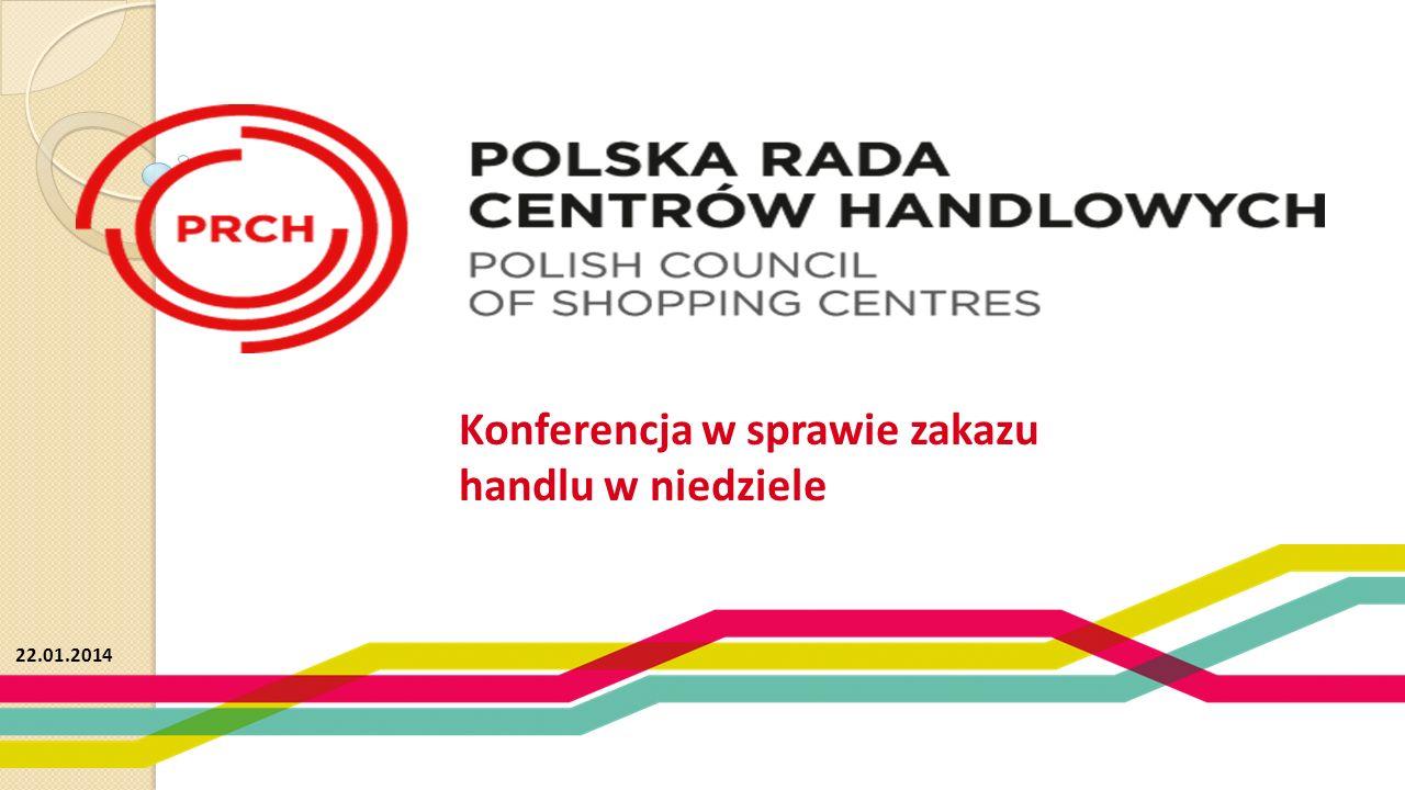 Konferencja w sprawie zakazu handlu w niedziele 22.01.2014