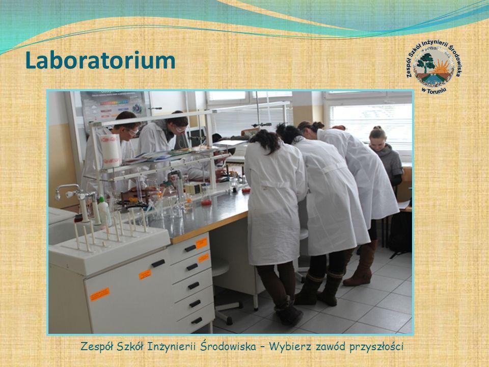 Laboratorium Zespół Szkół Inżynierii Środowiska – Wybierz zawód przyszłości
