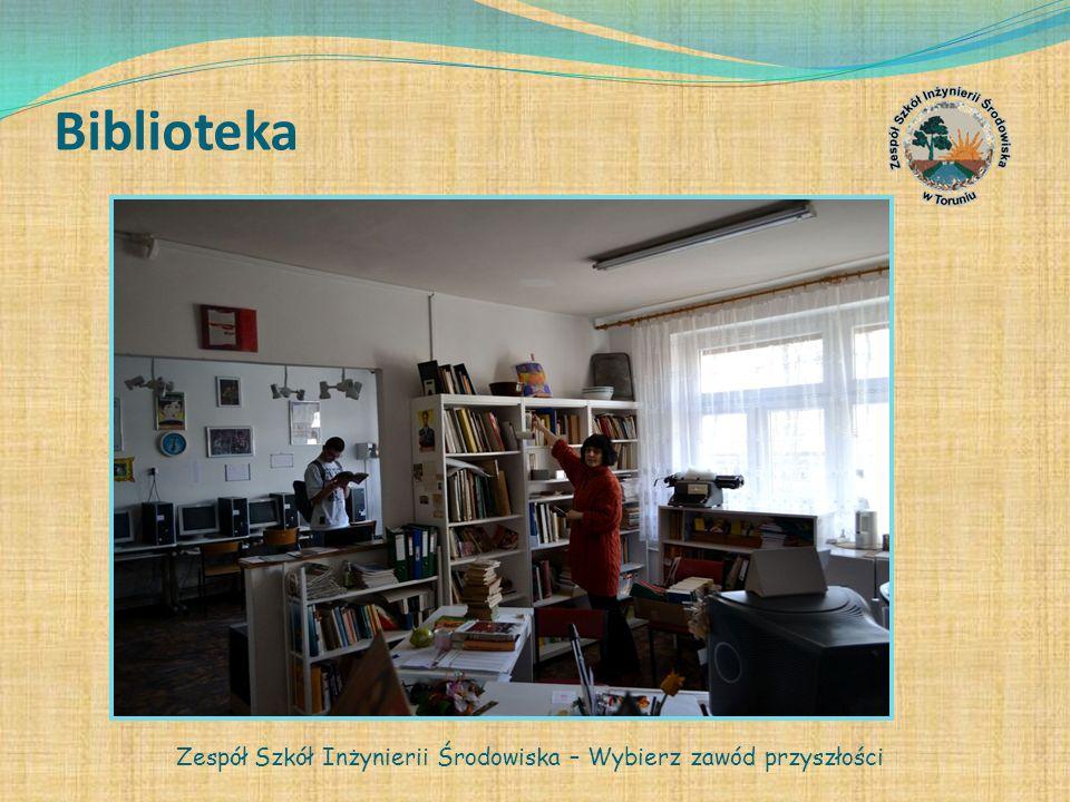 Biblioteka Zespół Szkół Inżynierii Środowiska – Wybierz zawód przyszłości