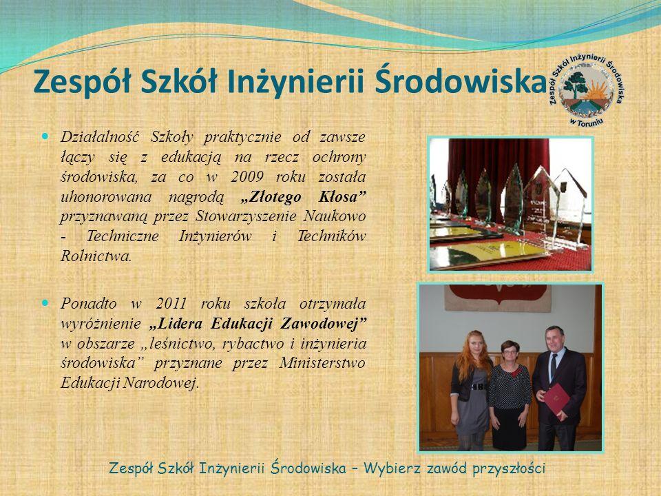 Współpraca z innymi instytucjami Toruńska Energetyka Cergia Spółka Akcyjna Wyższa Szkoła Zarządzania Środowiskiem w Tucholi Zespół Szkół Inżynierii Środowiska – Wybierz zawód przyszłości