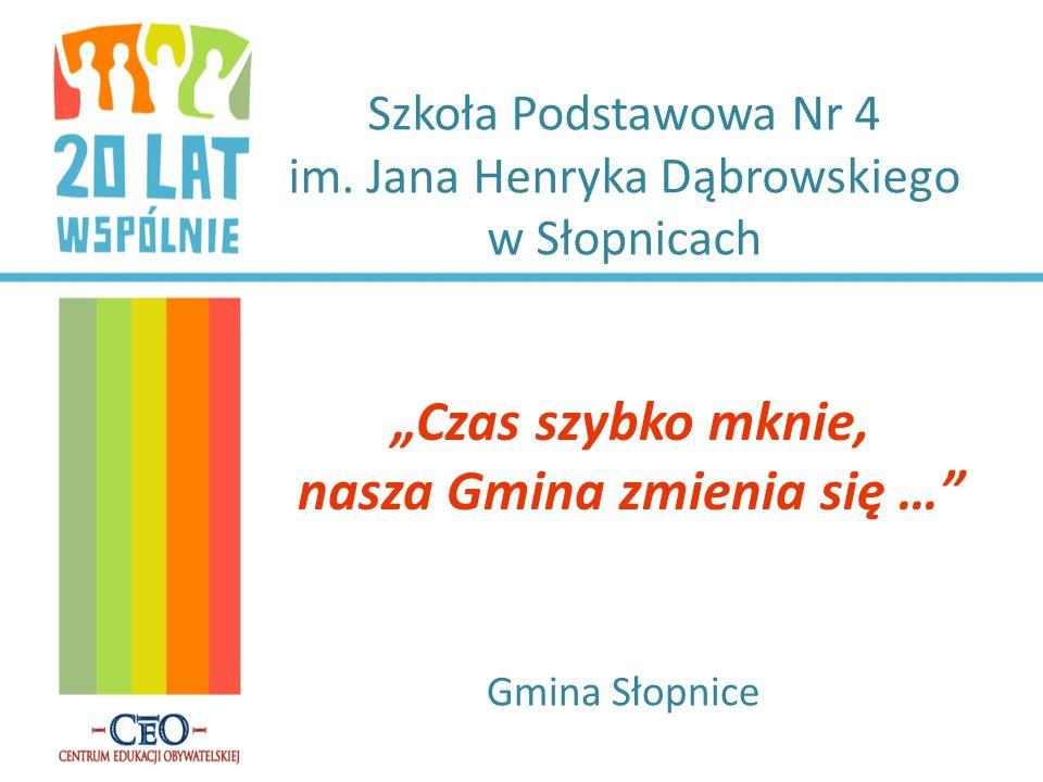 W TROSCE O CZAS SŁOPNICZAN 20 lata temu nie było gminy w Słopnicach tylko w Tymbarku i chcąc załatwić jakąś sprawę urzędową, trzeba było jechać do Tymbarku.