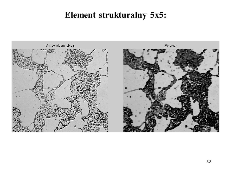 38 Element strukturalny 5x5: