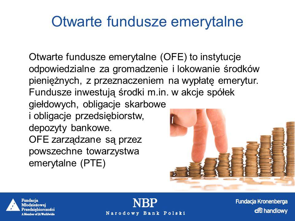 Komisja Nadzoru Finansowego co pół roku publikuje oficjalny ranking Otwartych Funduszy Emerytalnych, na podstawie osiągniętych przez nie wyników inwestycyjnych (stopa zwrotu).