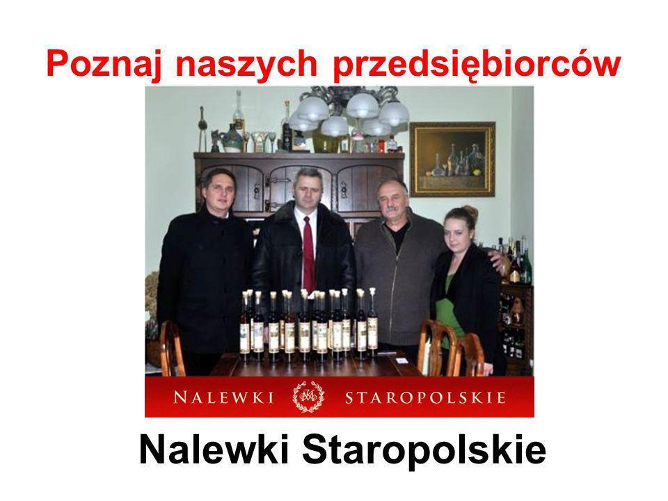 Poznaj naszych przedsiębiorców Nalewki Staropolskie