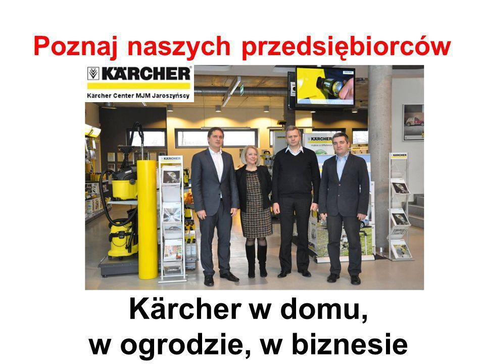Poznaj naszych przedsiębiorców Kärcher w domu, w ogrodzie, w biznesie