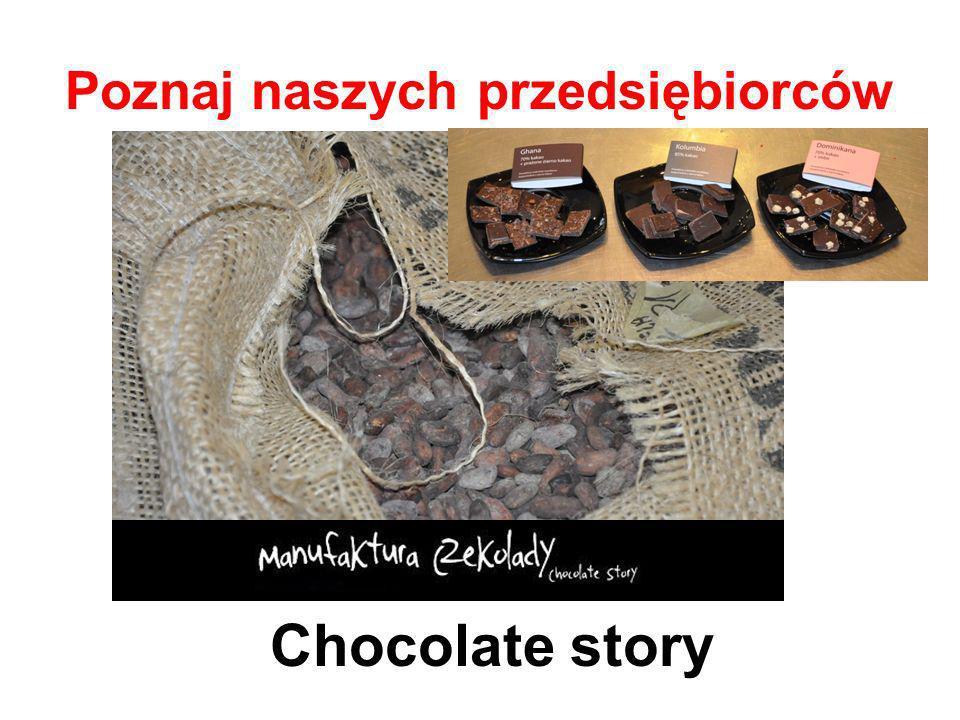 Poznaj naszych przedsiębiorców Chocolate story