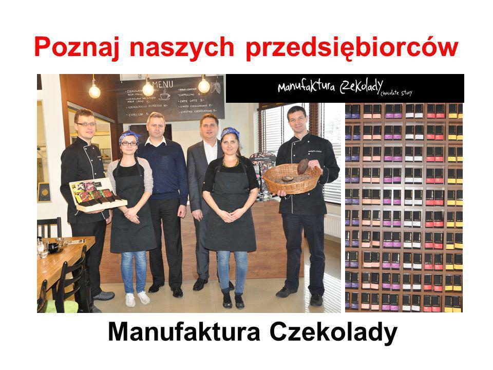 Poznaj naszych przedsiębiorców Manufaktura Czekolady
