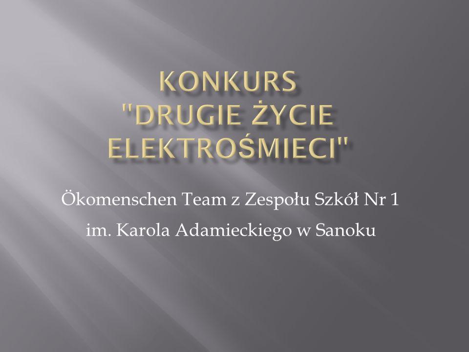 Ökomenschen Team z Zespołu Szkół Nr 1 im. Karola Adamieckiego w Sanoku