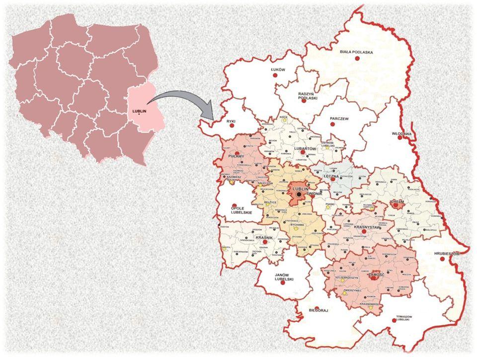 Lublin Województwo: lubelskie Powiat: miasto na prawach powiatu Prawa miejskie: 1317 r.