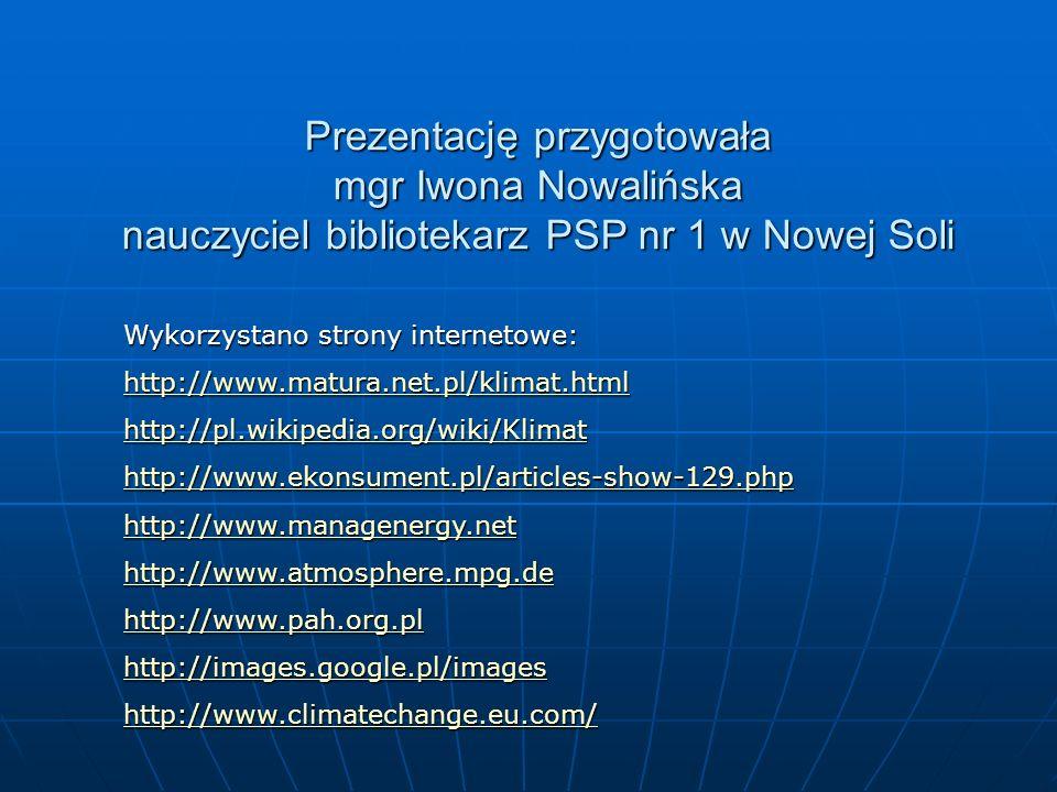 Prezentację przygotowała mgr Iwona Nowalińska nauczyciel bibliotekarz PSP nr 1 w Nowej Soli Wykorzystano strony internetowe: http://www.matura.net.pl/