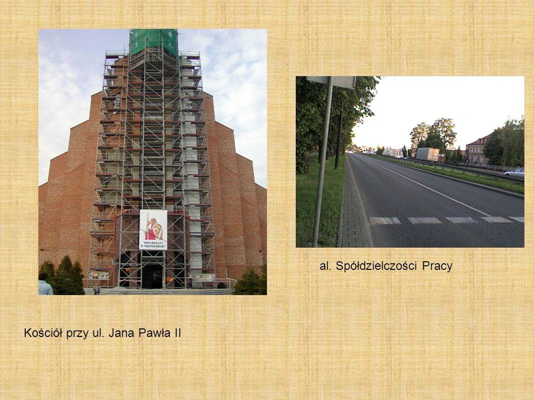 al. Spółdzielczości Pracy Kościół przy ul. Jana Pawła II