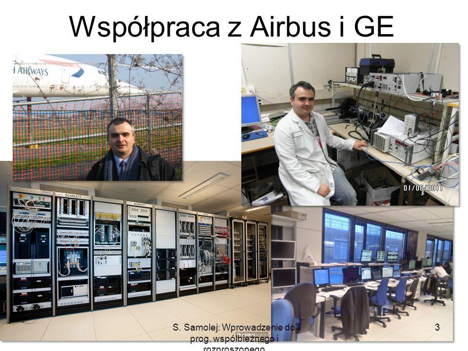 Współpraca z Airbus i GE 3S. Samolej: Wprowadzenie do prog. wspólbieżnego i rozproszonego