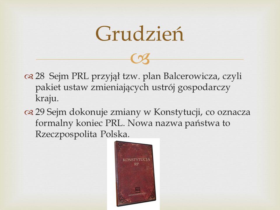28 Sejm PRL przyjął tzw.