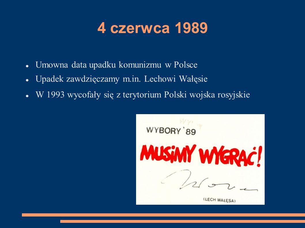 Najważniejsze daty – 1989 rok 28 kwietnia – pierwszy półgodzinny program radiowy Solidarności.