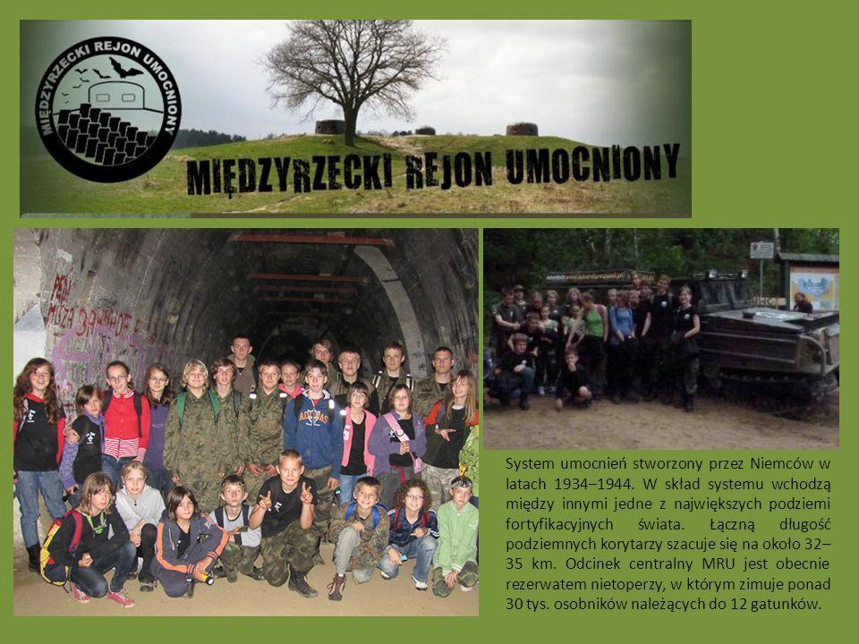 System umocnień stworzony przez Niemców w latach 1934–1944.