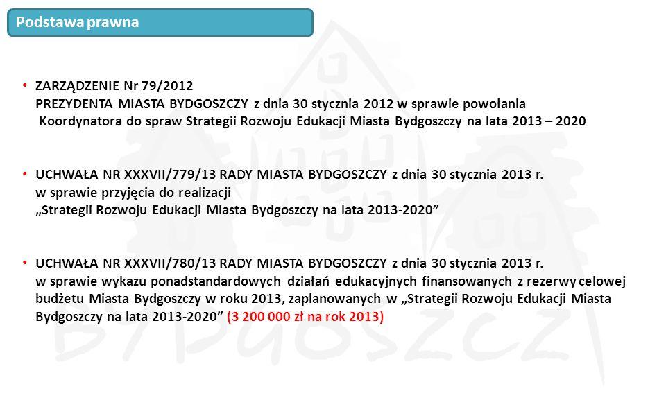 ZARZĄDZENIE Nr 79/2012 PREZYDENTA MIASTA BYDGOSZCZY z dnia 30 stycznia 2012 w sprawie powołania Koordynatora do spraw Strategii Rozwoju Edukacji Miast