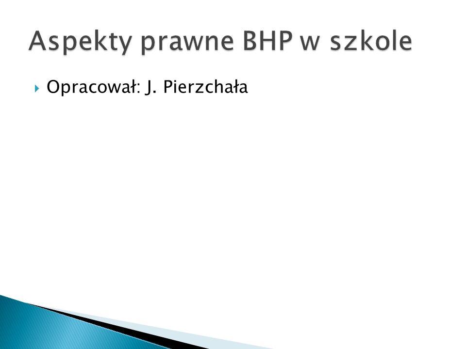 Opracował: J. Pierzchała