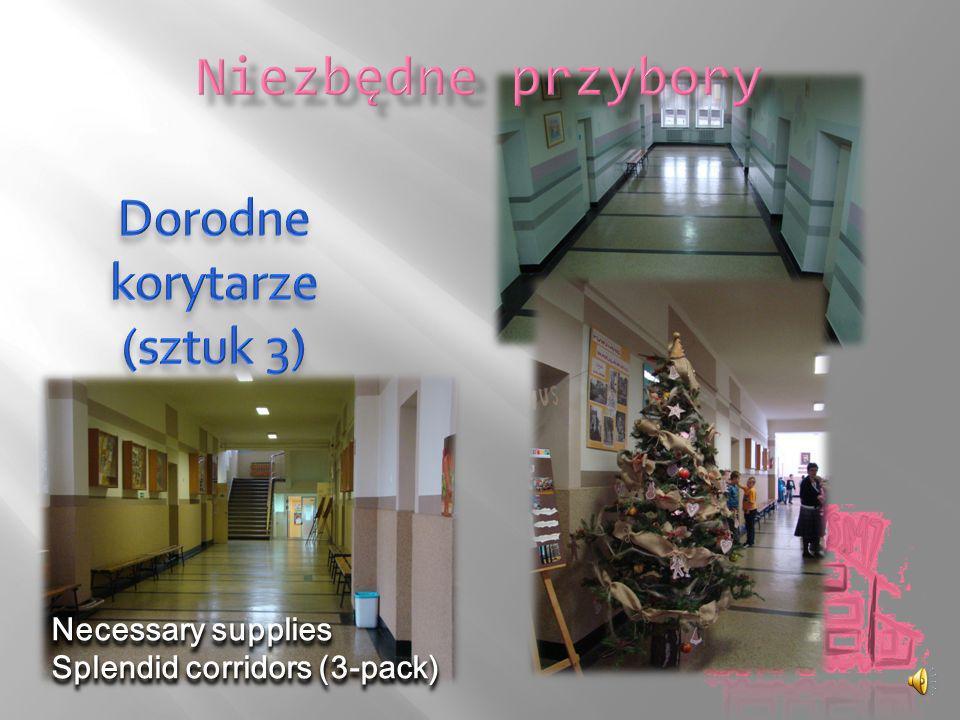 Necessary supplies Splendid corridors (3-pack)