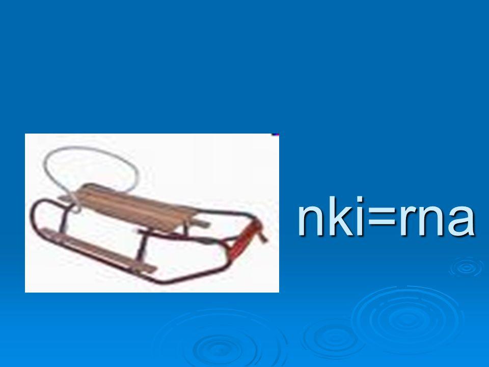 nki=rna