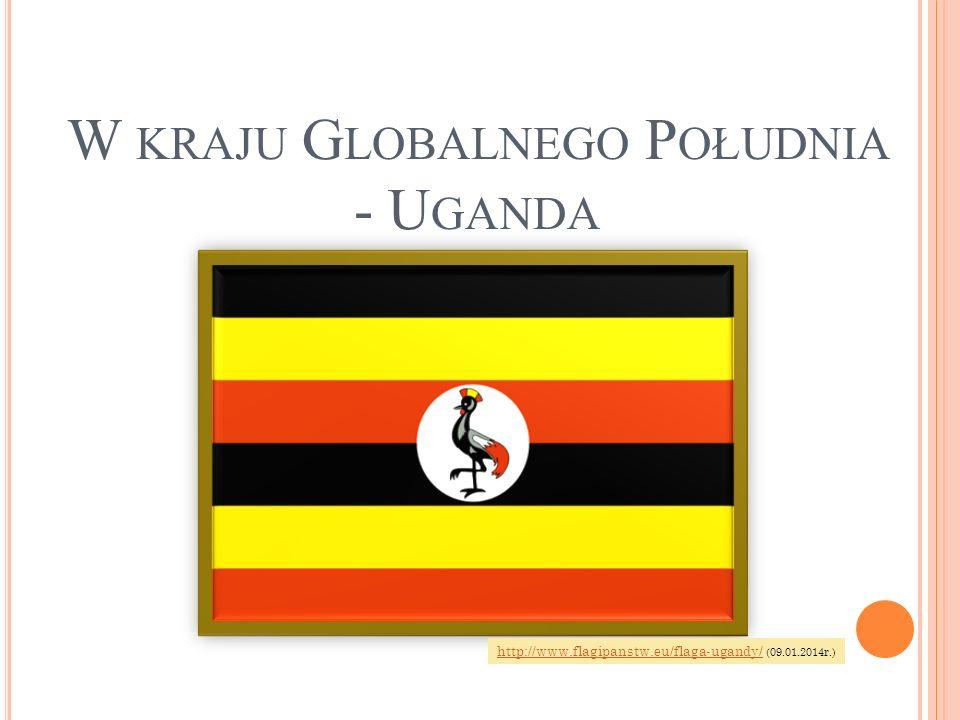 Uganda – państwo we wschodniej Afryce nad Jeziorem Wiktorii, o pow.