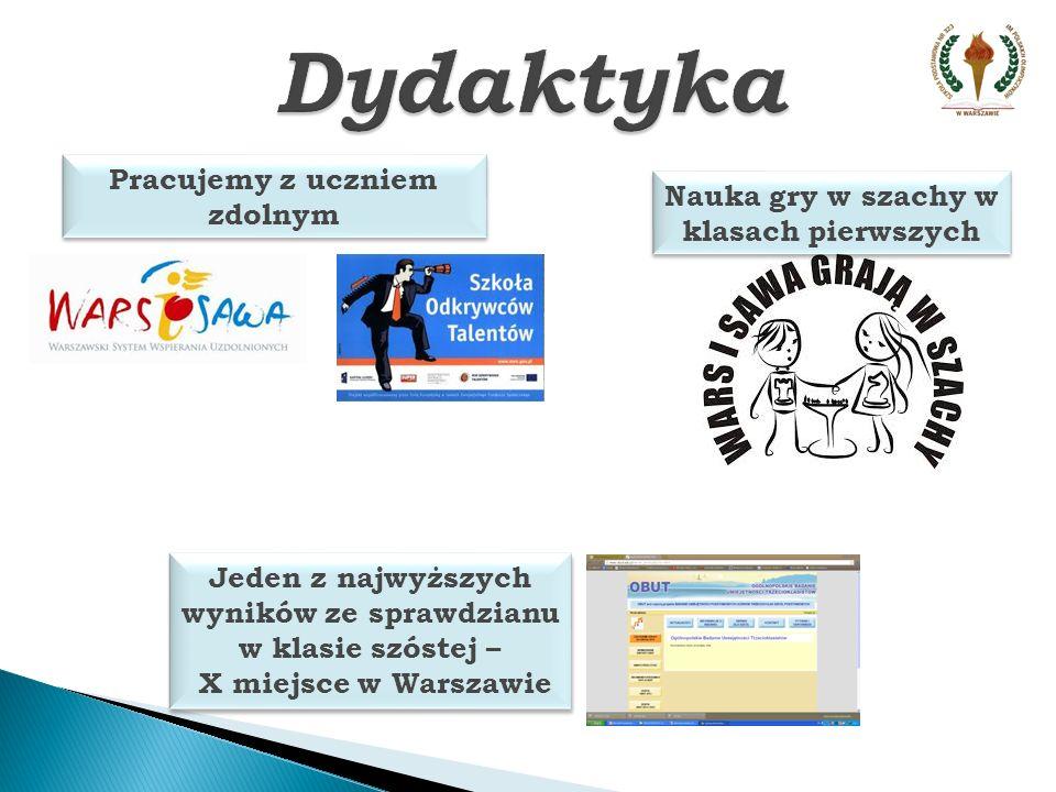 Wychowawca roku 2013 Wychowanie Szkolna Kasa Oszczędności Sport Eko Ursynowska EKOLIGA