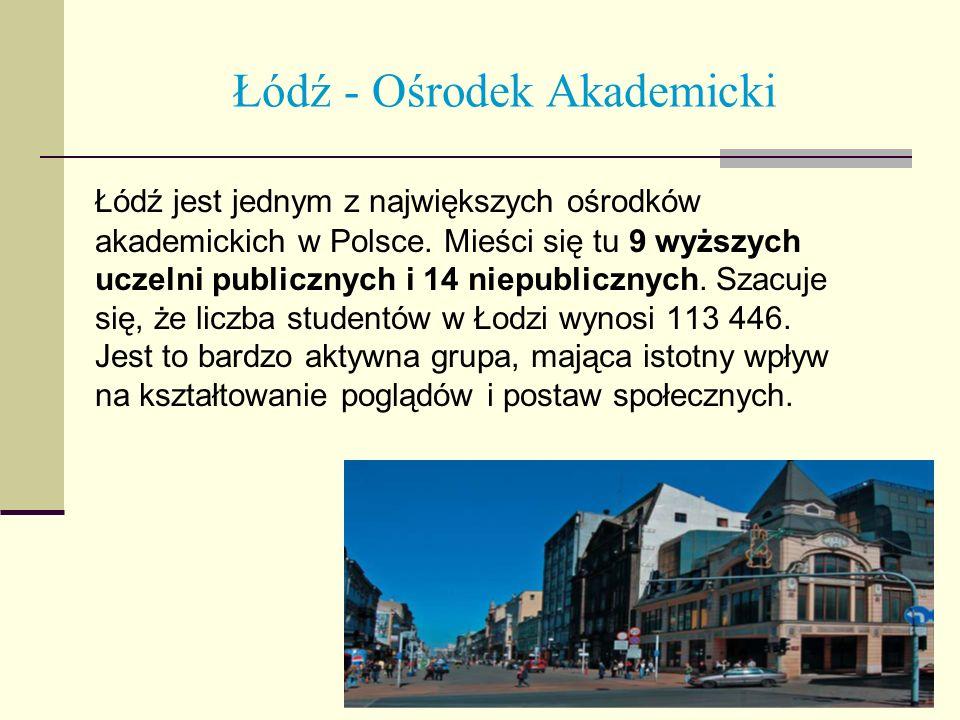 Łódź jest jednym z największych ośrodków akademickich w Polsce. Mieści się tu 9 wyższych uczelni publicznych i 14 niepublicznych. Szacuje się, że licz