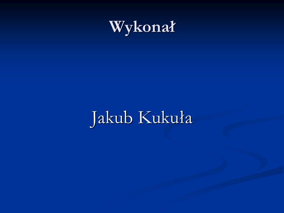 Wykonał Jakub Kukuła
